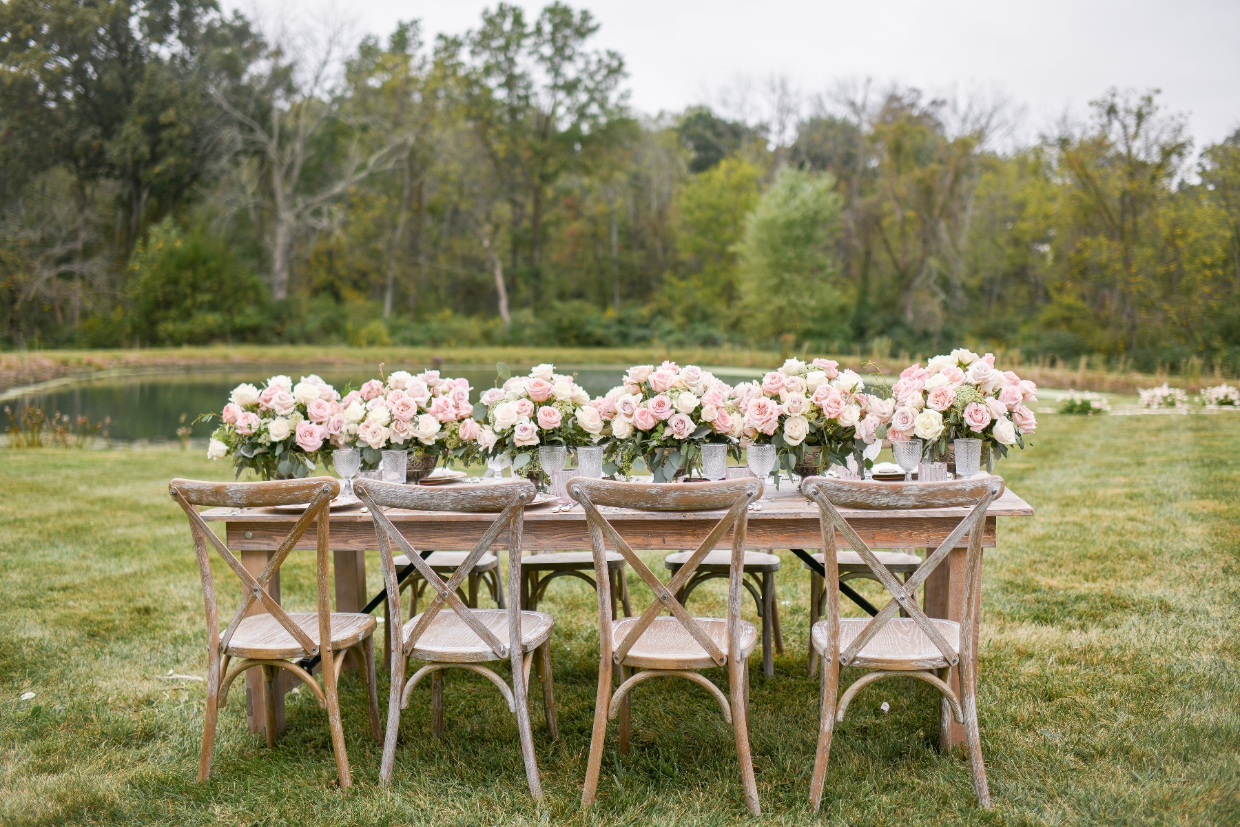 Enchanted Romantic Bellevue Roses Wedding 2021
